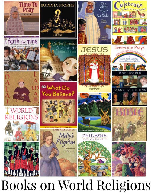 Books on World Religions for Kids- Kid World Citizen